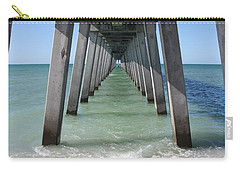 Fishing Pier Architecture Carry-all Pouch