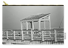 Carry-all Pouch featuring the photograph Fishing Pier by Tikvah's Hope