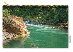 Fishing The River Carry-all Pouch