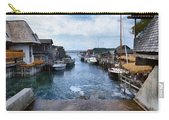 Fishtown Leland Michigan Carry-all Pouch