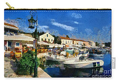 Fiskardo Town In Kefallonia Island Carry-all Pouch