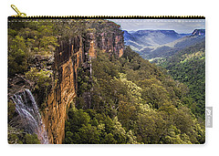 Fitzroy Falls In Kangaroo Valley Australia Carry-all Pouch by David Smith