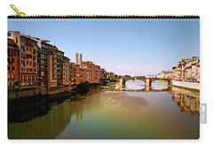 Carry-all Pouch featuring the photograph Fiume Di Sogni by Micki Findlay