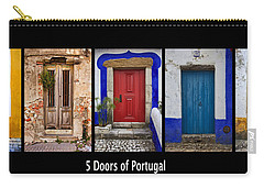 Five Doors Of Portugal Carry-all Pouch