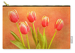 Five Tulips Carry-all Pouch