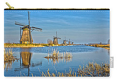 Five Windmills At Kinderdijk Carry-all Pouch