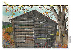 Autumn - Shack - Woodshed Carry-all Pouch