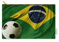 Flag And Ball Carry-all Pouch