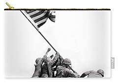 Flag Raising At Iwo Jima Carry-all Pouch