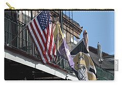 Flags On Bourbon Street Carry-all Pouch