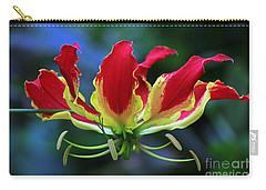 Flame Lily II Carry-all Pouch