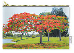 Flame Tree Carry-all Pouch