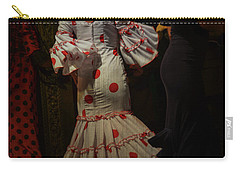 Flamenco Dancer #14 Carry-all Pouch by Mary Machare
