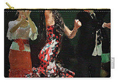 Flamenco Series No 13 Carry-all Pouch by Mary Machare