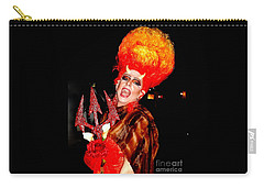 Halloween Flamming Devilish Deva Costume In The French Quarter Of New Orleans Carry-all Pouch