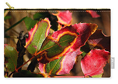 Flaming Leaves Carry-all Pouch