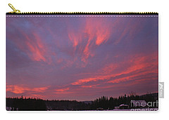 Flaming Morning Sky Carry-all Pouch