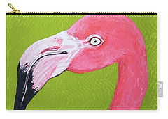 Flamingo Head Carry-all Pouch