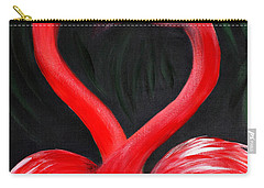 Love  Is... Flamingo Love. Inspirations Collection Carry-all Pouch