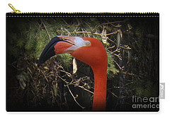 Flamingo Profile Carry-all Pouch