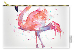 Flamingo Carry-All Pouches
