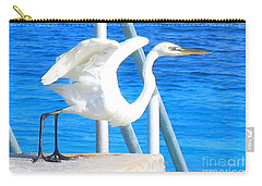 Carry-all Pouch featuring the photograph Flaps Up by Patti Whitten