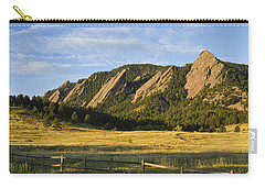 Flatirons From Chautauqua Park Carry-all Pouch