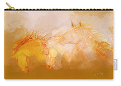Flaxen Manes Carry-all Pouch