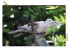 Fleur De Lis Dove Love Carry-all Pouch