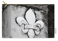 Fleur De Lys Carry-all Pouch by Shaun Higson