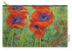 Fleurs Des Poppies Carry-all Pouch
