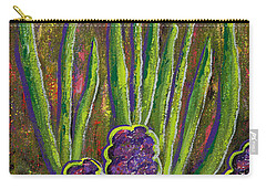 Fleurs D' Tulips And Hyacinths Carry-all Pouch by Margaret Bobb