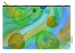 Carry-all Pouch featuring the painting Flight 319 by Beverley Harper Tinsley