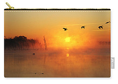 Flight At Sunrise Carry-all Pouch