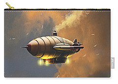 Flight At Sunset Carry-all Pouch by Ken Morris