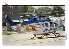 Carry-all Pouch featuring the photograph Flight For Life by Susan  McMenamin
