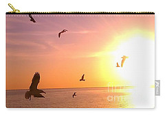 Carry-all Pouch featuring the photograph Flight Into The Light by Chris Tarpening