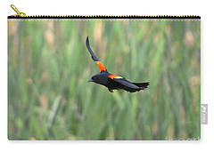 Red Winged Blackbird Carry-All Pouches