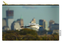 Flight Of The Great Egret Carry-all Pouch