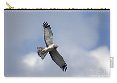 Flight Of The Harrier Carry-all Pouch by Mike  Dawson