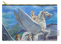 Flights Of Fancy Carry-all Pouch by Bryan Bustard