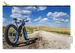 Flint Hills Fall Fatbike Ride Carry-all Pouch