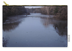 Carry-all Pouch featuring the photograph Flint River 1 by Kim Pate