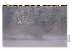Carry-all Pouch featuring the pyrography Flint River 10 by Kim Pate