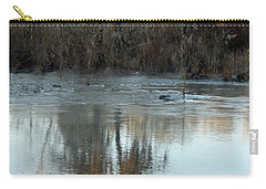 Carry-all Pouch featuring the photograph Flint River 17 by Kim Pate