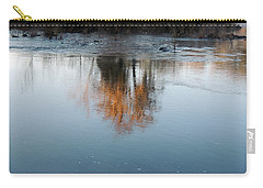 Carry-all Pouch featuring the photograph Flint River 21 by Kim Pate
