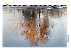 Carry-all Pouch featuring the photograph Flint River 22 by Kim Pate