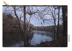 Carry-all Pouch featuring the photograph Flint River 4 by Kim Pate