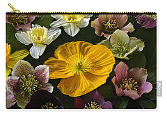 Floating Bouquet Of Early April Flowers Carry-all Pouch