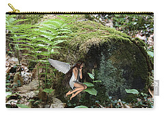 Floating Fairy In Forest Carry-all Pouch